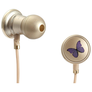 Monster Cable Butterfly by Vivienne Tam with ControlTalk High Performance In-Ear Headphones