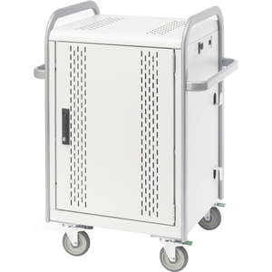 20-Unit Charge/Store Laptop Cart Secure and Charge Cust Pays / Mfr. No.: Mdmlap20-Ctal
