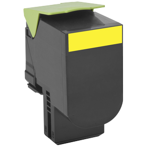 Cx 510 Yellow Extra High Yield Return Program Print Cartridge / Mfr. no.: 80C0XYG
