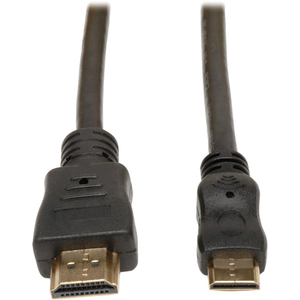 3ft High Speed With Ethernet HDMI To Mini HDMI Cable 3 / Mfr. No.: P571-003-Mini
