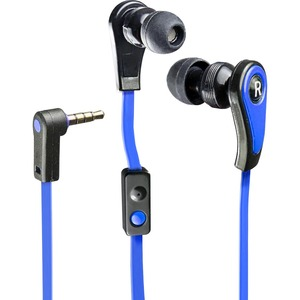 In-Ear Headphone W/Mic For iPhone/Cellphone 3.5mm Blue / Mfr. no.: CL-AUD63030