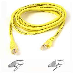 25ft Cat6 Yellow Patch Cable Snagless / Mfr. No.: A3l980-25-Ylw-S