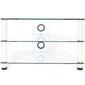 Demagio Demagio TV Stand - DM021 - Clear Glass