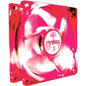 Tricool 80mm Red Case Fan / Mfr. No.: Tricool R-LED 80