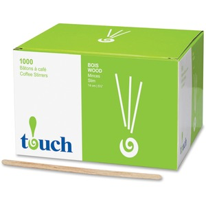 "Touch Wooden Stir Sticks 5-1/2"" 1000/box"