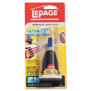 LePage® Ultra Gel Control Super Glue 4mL