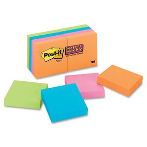 POST-IT-NOTE 2X2 PK/8 S/S MARRAKESH