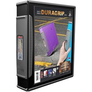 """Storex® Duragrip View D-Ring Binder 1-1/2"""" Black"""