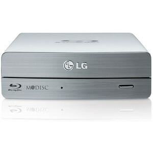 LG Super Multi Blue External USB 3.0 14x Blu-ray Disc Rewriter / Mfr. No.: Be14nu40