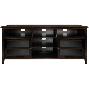 63 In Wide Wood A/V Cabinet Dark Espresso Finish / Mfr. No.: Wavs99163