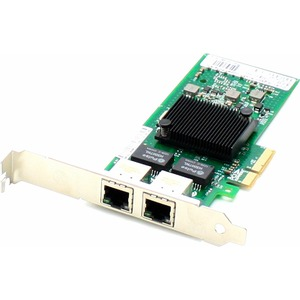 Standard Dual Port Bracket for ADDON ADD-PCIE-2RJ45-10G 10GBE PCIe X8 RJ45 2 port/ Mfr. No.: Add-PCIe-2rj45