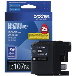 Brother® Inkjet Cartridge Super High Yield LC107BKXXL Black