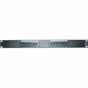 Cat6 12port Rackmount Patch Panel / Mfr. No.: 4xrmc6pp12
