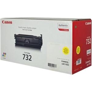 Canon 732 Y - Jaune - original - cartouche de toner - pour i-SENSYS LBP7780Cx - 6260B002