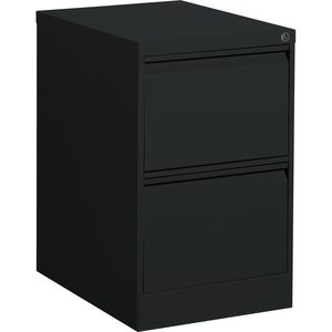 Offices To Go Vertical File 2-Drawer Legal Black