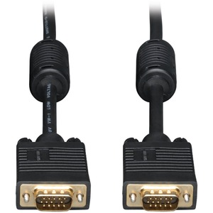 30ft SVGA/VGA Monitor Gold Cable Rgb Coax Hd15 Male / Male / Mfr. No.: P502-030