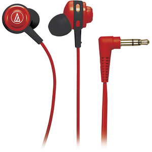 Audio Technica Core In-Ear Headphones - Red / Mfr. No.: Ath-Cor150rd
