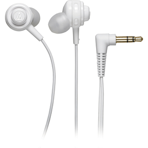 Core In Ear Portable Headphone Full Bass Excellent Detail Whit / Mfr. No.: Ath-Cor150wh