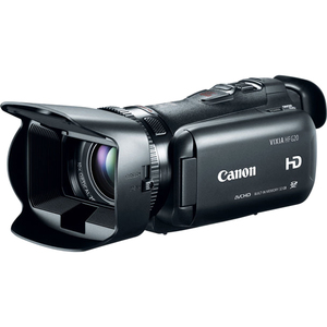 Canon VIXIA HF G20 High Definition Camcorder / Mfr. Item No.: 8063b002
