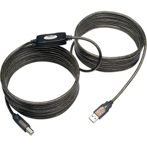 25ft High-Speed USB2.0 A/B M/M Active Device Cable / Mfr. No.: U042-025