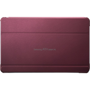 Red Synthetic Leather Ativ Smart PC Back Cover Case For 11 / Mfr. No.: AA-Bs5nbcr/Us