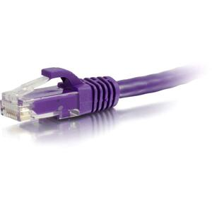 2ft Cat5e Purple Snagless Patch Cable / Mfr. no.: 00462