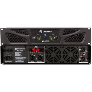 Crown XLi 1500 Two-channel, 450W @ 4? Power Amplifier