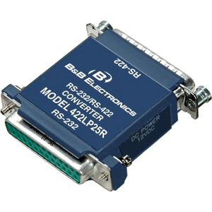 2 CHANNEL PORT POWERED RS232 TO RS422 CONVERTER DB25 CONNECTION