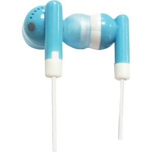Lightweight Stereo Ear Buds W/ 10mmdr / Mfr. No.: Iq-101 Blue
