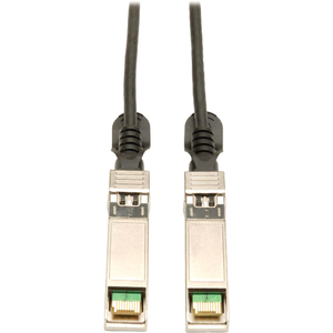 3ft Sfp+ 10gbase-Cu Twinax Black Passive Copper Cable / Mfr. No.: N280-01m-Bk