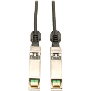6ft Sfp+ 10gbase-Cu Twinax Black Passive Copper Cable / Mfr. No.: N280-02m-Bk