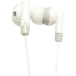 Lightweight Stereo Ear Buds W/ 10mmdr / Mfr. No.: Iq-101 White