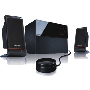 Microlab M200 (09) 2.1 Subwoofer Speaker System for Multimedia and Computers Applications