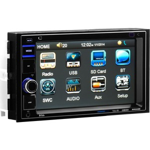 6.2in Touch Mechless Double Din W/ USB/SD/Aux Input / Mfr. No.: Bv9348b