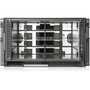 HPE BladeSystem c3000 c-Class Server Blade Enclosure - Rack-mountable - 6U - 6 x Fan(s) In