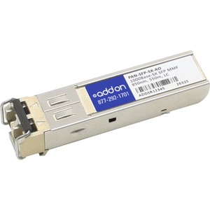 1000bsx F/Palo Alto Network Sfp Mmf 850nm 550m Lc 100 Perce / Mfr. No.: Pan-Sfp-Sx-Ao