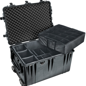 Black 1660 Case With Line and No Foam / Mfr. No.: 1660-021-110