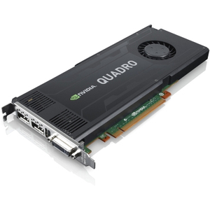 Nvidia Quadro K4000 PCIe 3gb 2dp 2DVI Graphics Card / Mfr. No.: 0b47393
