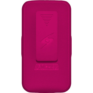 Amzer Shellster Hot Pink Shell Holster Case For Galaxy S Iv / Mfr. No.: Amz95563