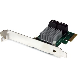 4port PCIe SATA Controller With RAID And Heatsink / Mfr. No.: Pexsat34rh