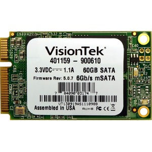 60gb SATA III 6bb/S MSATA Ssd Micron Async Mlc Flash / Mfr. No.: 900610