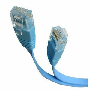 6ft Blue Cat5e Flat Molded Patch Cord Patch Cable / Mfr. no.: FLAT45BL6