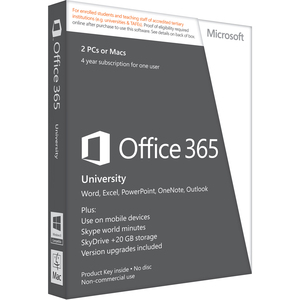 Office365univ 32/64 Alng Subs Esd Dwnld 4yr Onlnacad ** No Re / Mfr. No.: R4t-00009