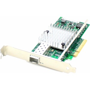 AddOn 10Gbs Single Open SFP+ Port PCIe x8 Network Interface Card