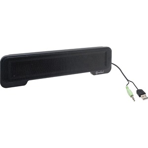 Portable Stereo Soundbar Speakers USB 3.5mm / Mfr. no.: CL-SPK20138