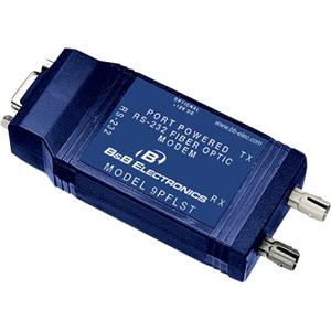 B&B 9 PIN 232 FO MODEM W/HANDSHAKE