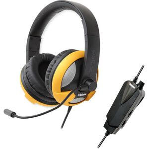 Oblanc Ufo Gaming Headsets 5.1 Surround USB Volume Yellow / Mfr. no.: OG-AUD63060
