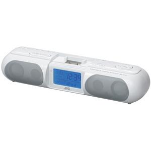 JVC RAP10 Clock Radio With iPod Dock