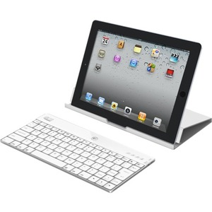 Compagno X-Aluminum 84key USB Bluetooth Kyb W/Stand Wht For IPad Ios / Mfr. No.: Wkb-1000xw