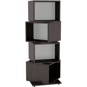 Rotating Cube 216 Media Tower Holds 216 Cds/144 Dvds/168 Blur / Mfr. no.: 2823-5872